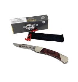 Bear and Son 03346 Bear Rosewood Lockback Knife