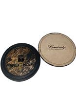 Cambridge 03592 USA Made Leather Coaster