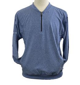 Akwa 03611 Akwa USA made 1/4 Zip Men's Windshirt