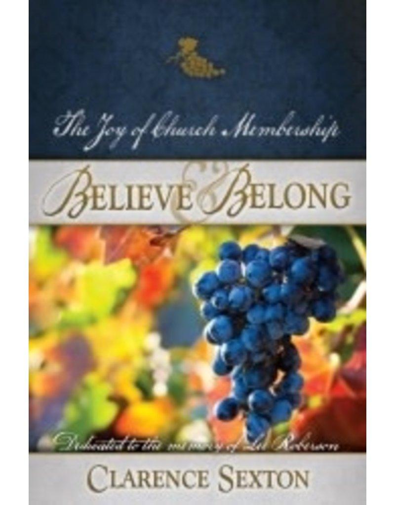 Believe and Belong - Full Length Book