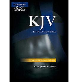 Cambridge Bible - Cameo Reference Edition Black Imitation Leather