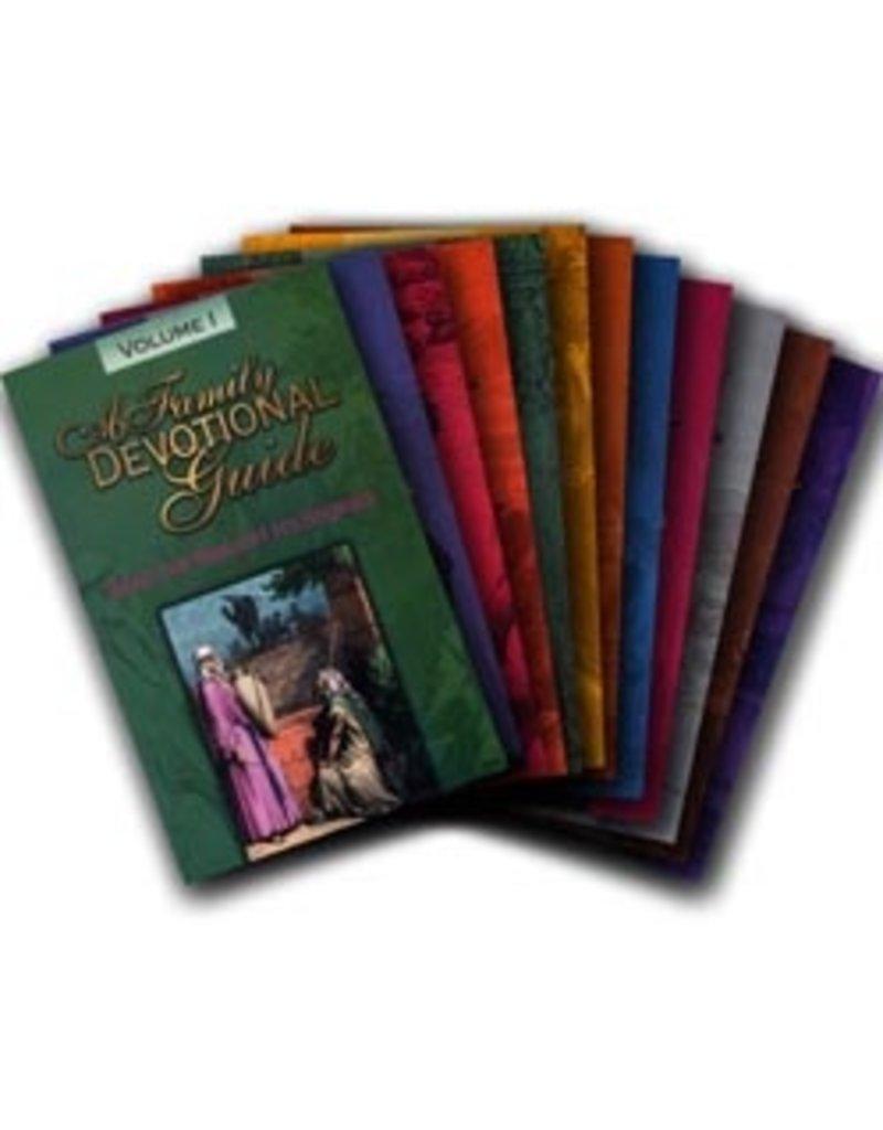 Family Devotional Guide Set 1-8