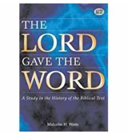Lord Gave the Word