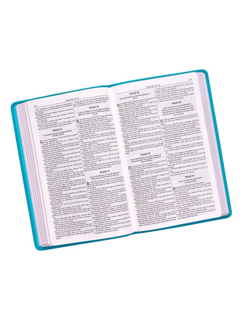 Gift Edition Bible Slimline Turquoise
