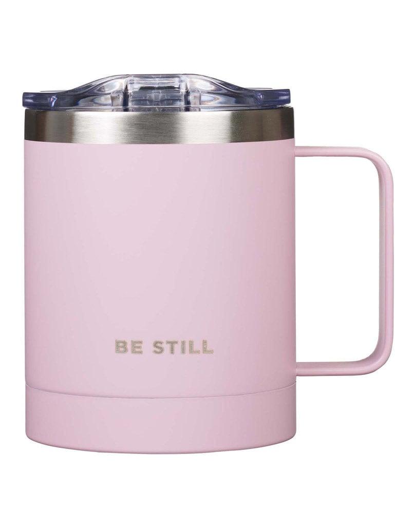Be Still Pink Stainless Steel Camp Mug