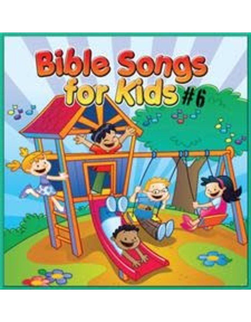 Bible Songs for Kids #6 CD