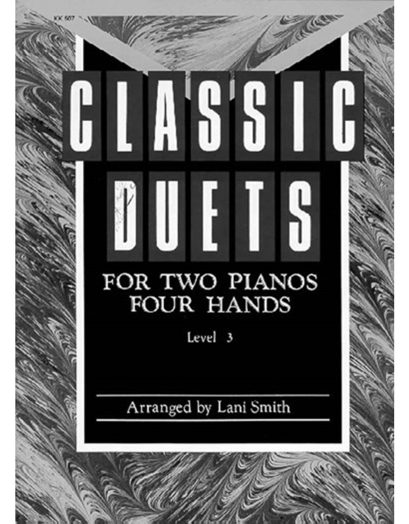 Classic Duets for Two Pianos Four Hands Level 3