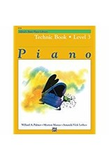 Technic Book Level 3 Alfred's Basic Piano Library