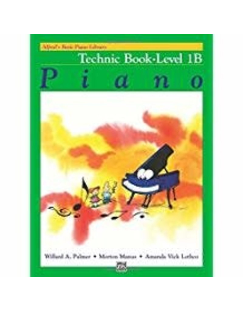 Technic Book Level 1B Alfred's Basic Piano Library