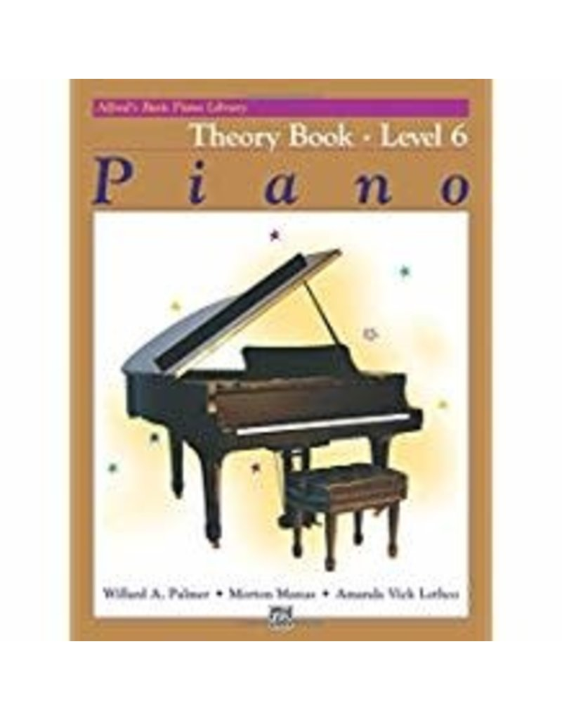 Theory Book Level 6 Alfred's Basic Piano Library