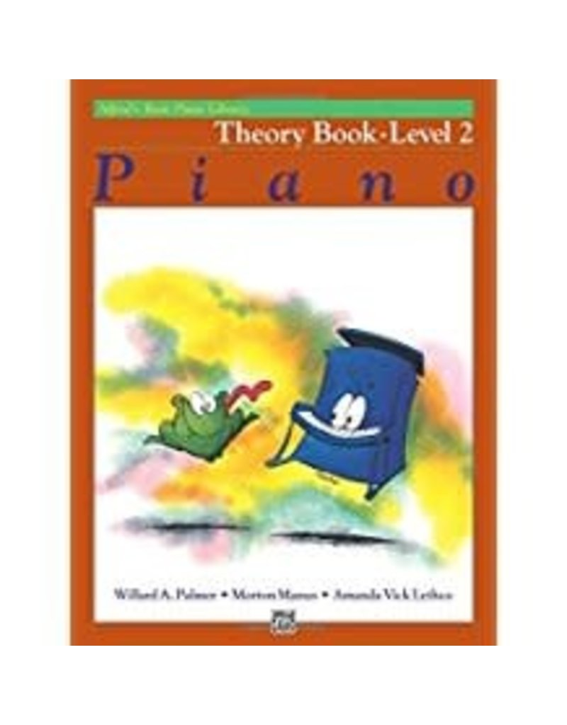 Theory Book Level 2 Alfred's Basic Piano Library
