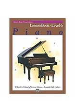 Lesson Book Level 6 Alfred's Basic Piano Library