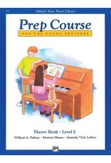 Prep Course Theory Book Level E Alfred's Basic Piano Library