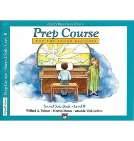 Prep Course Sacred Solo Book Level C Alfred's Basic Piano Library