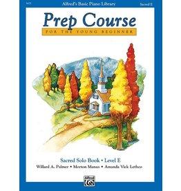 Prep Course Sacred Solo Book Level E Alfred's Basic Piano Library