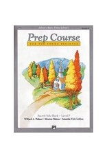 Prep Course Sacred Solo Book Level F Alfred's Basic Piano Library