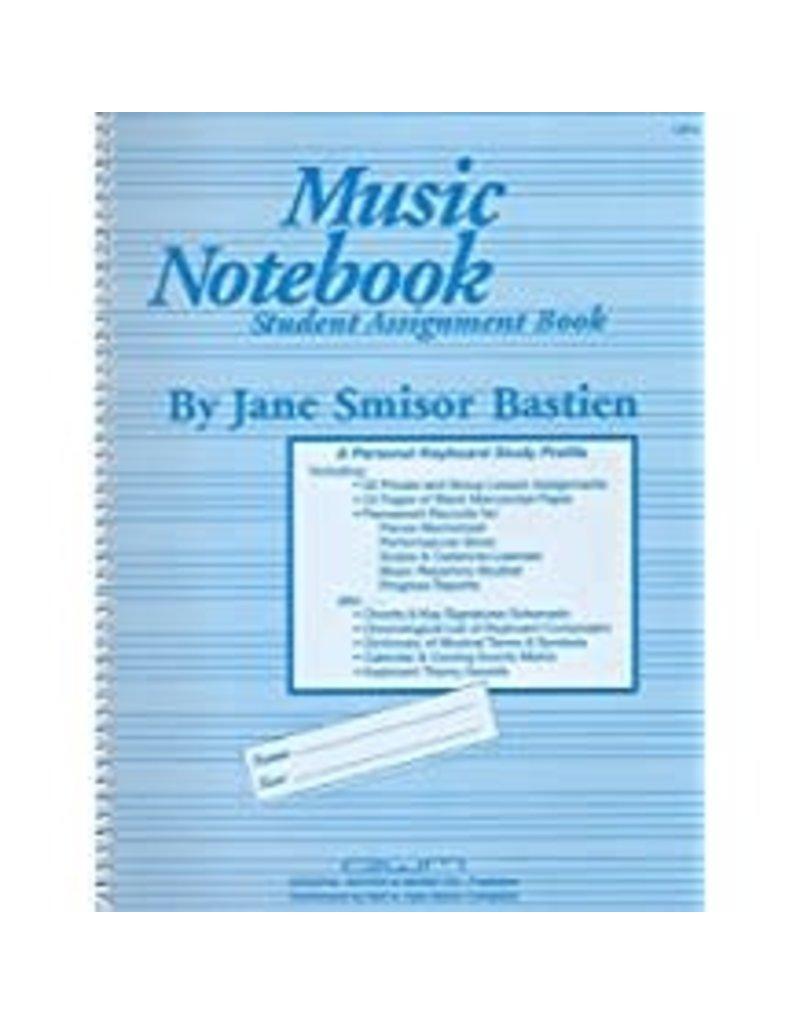 Music Notebook Student Assignment Book