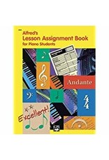 Alfred's Lesson Assignment Book