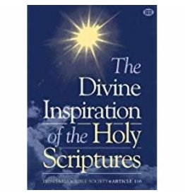 Divine Inspiration of the Holy Scriptures