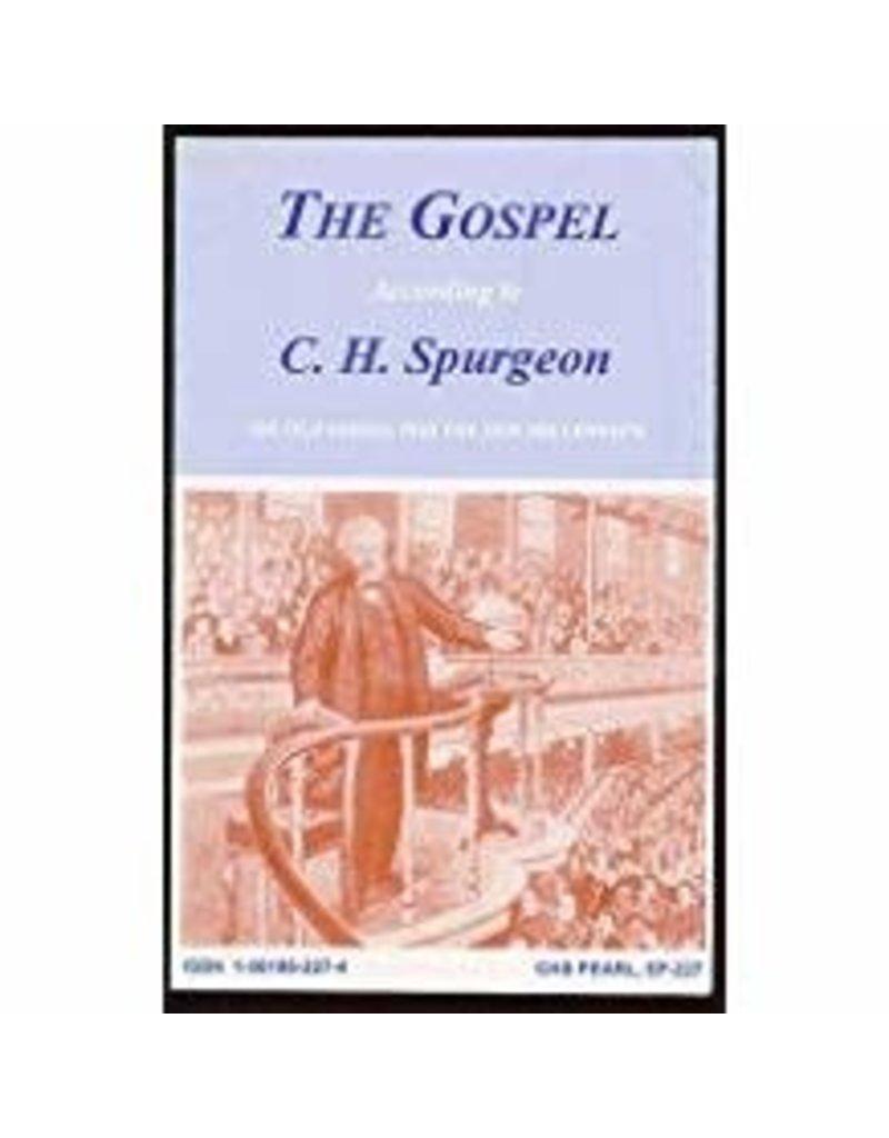 Gospel according to C.H.Spurgeon