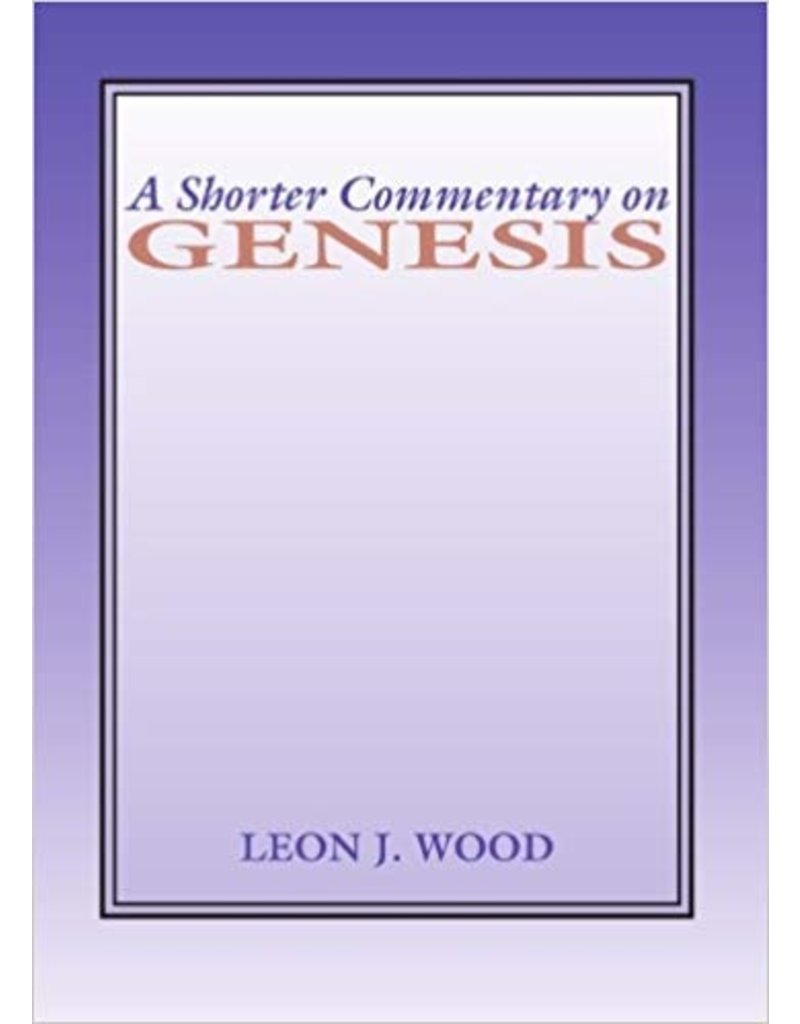 A Shorter Commentary on Genesis