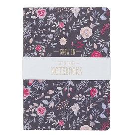 Grace, Love, Faith Large Notebook Set