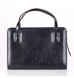 Bible Case-  Purse Style Medium Thin Line Black