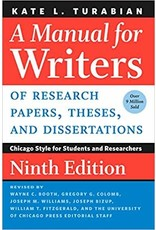 Manual for Writers 9th Edition