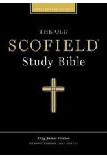 Old Scofield Study Bible, Black Bonded Leather, Thumb-Indexed, Classic Edition