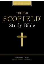 Old Scofield Study Bible, Burgundy Bonded Leather, Classic Edition