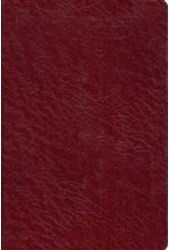 Old Scofield Study Bible, Burgundy Genuine Leather, Classic Edition