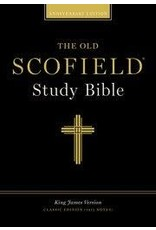 Old Scofield Study Bible, Black Genuine Leather, Classic Edition