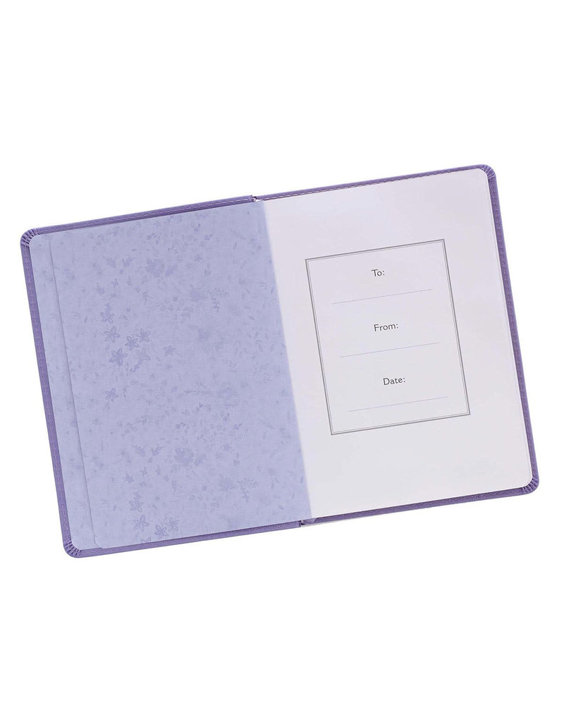 Be Brave Journal Purple