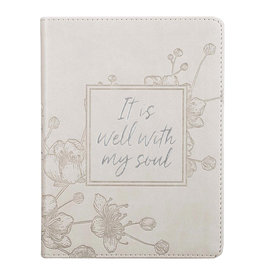 It Is Well With My Soul Journal Taupe
