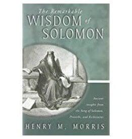 Remarkable Wisdom of Solomon