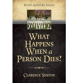 What Happens When a Person Dies?