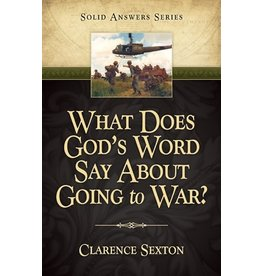 What Does God's Word say About Going to War?