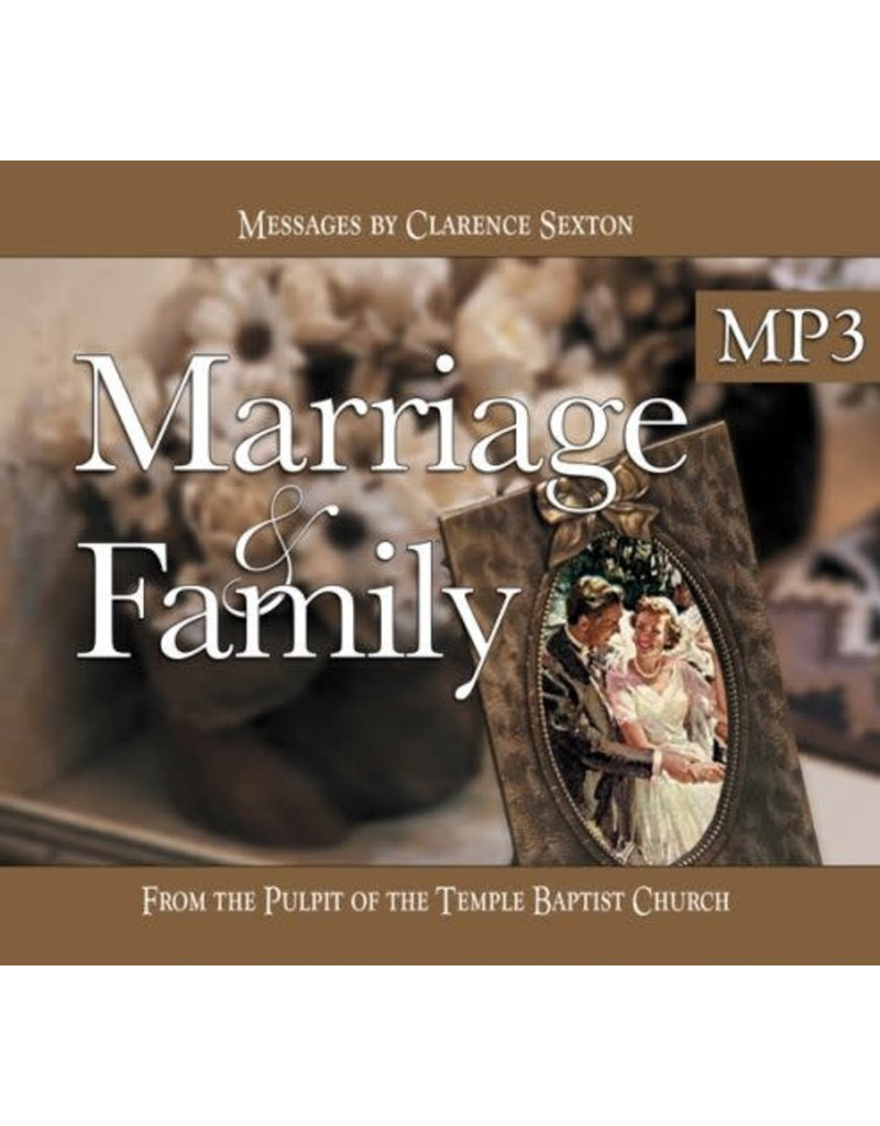 Marriage & Family MP3 Vol. 1