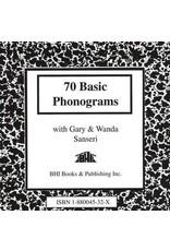 70 Basic Phonograms CD
