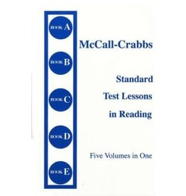 McCall-Crabbs Standard Test Lessons in Reading Five Volumes in One