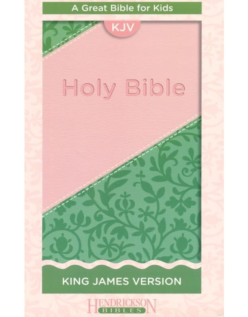 Great Bible for Kids Pink/Green