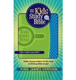 Kids Study Bible Flexisoft Green/Blue