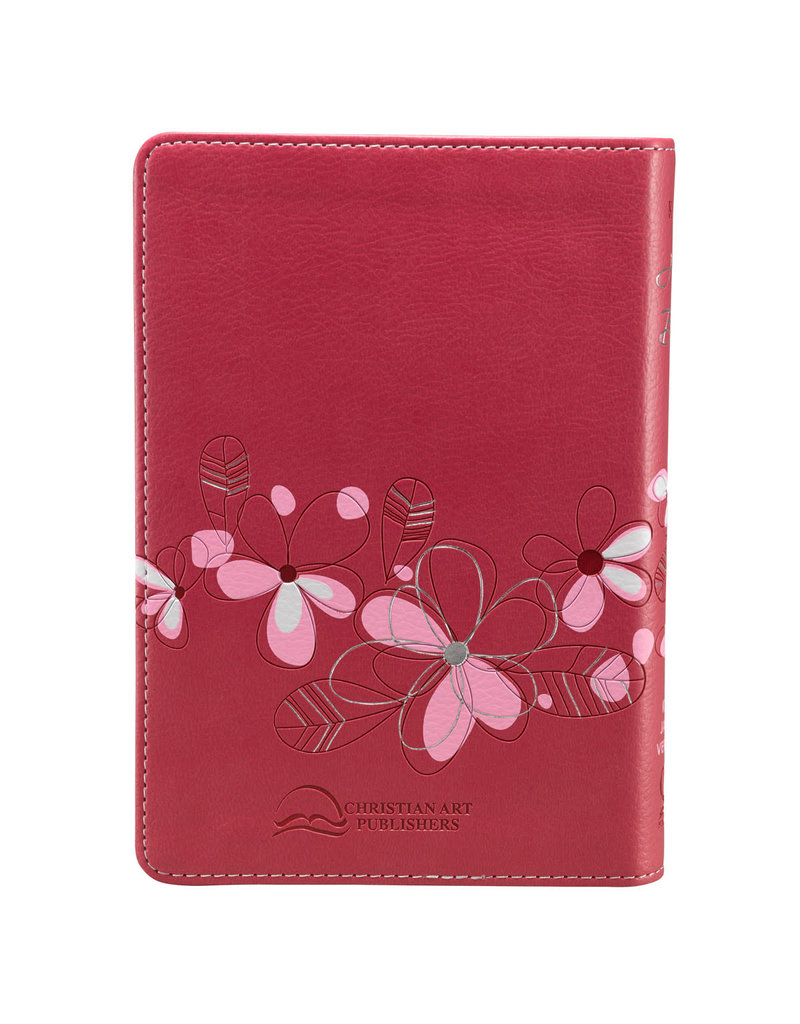 Pink Faux Compact Bible