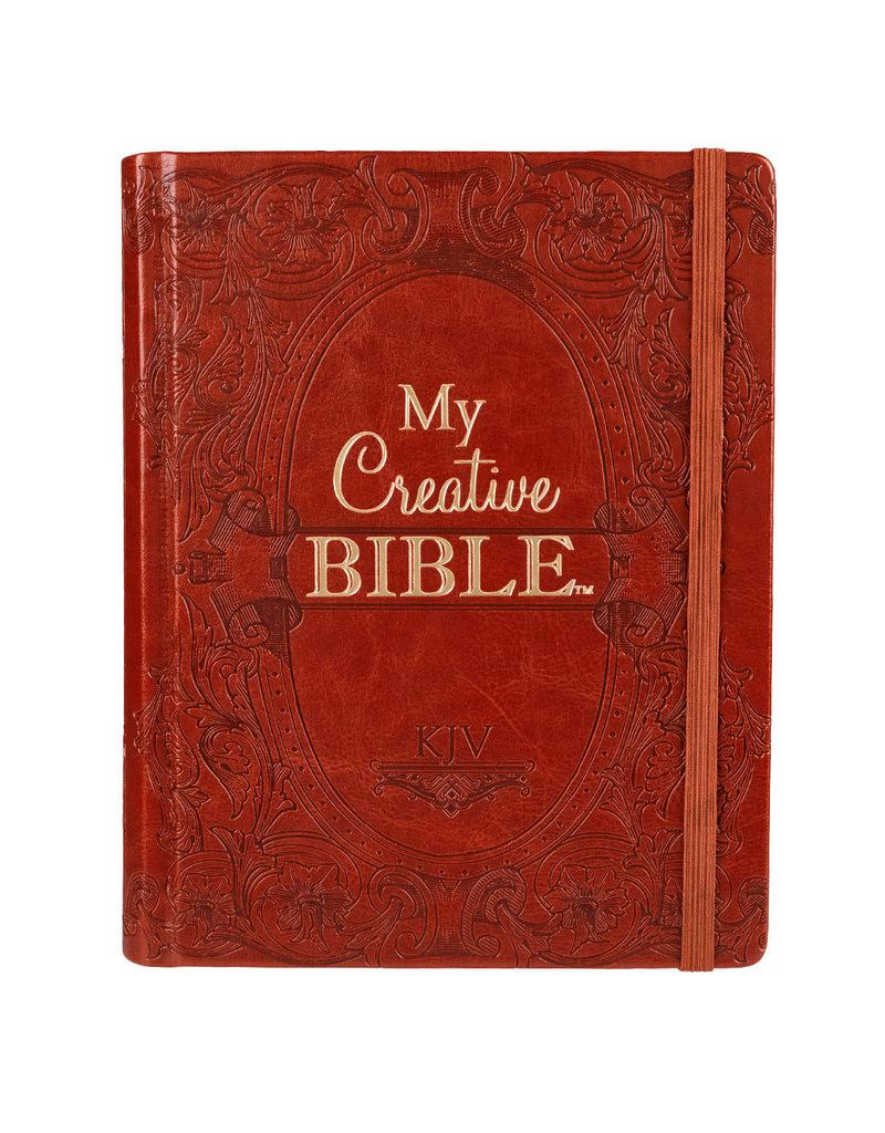 My Creative Bible Brown Hardcover