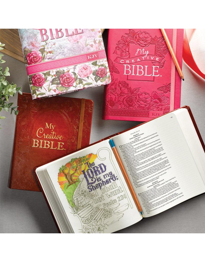 My Creative Bible Aqua Hardcover