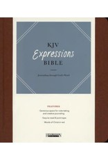 Expressions Bible Brown Hardcover