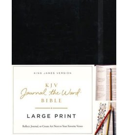 Large Print Journal the Word Bible Black Hardcover