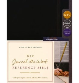 Journal the Word Reference Bible Black Hardcover