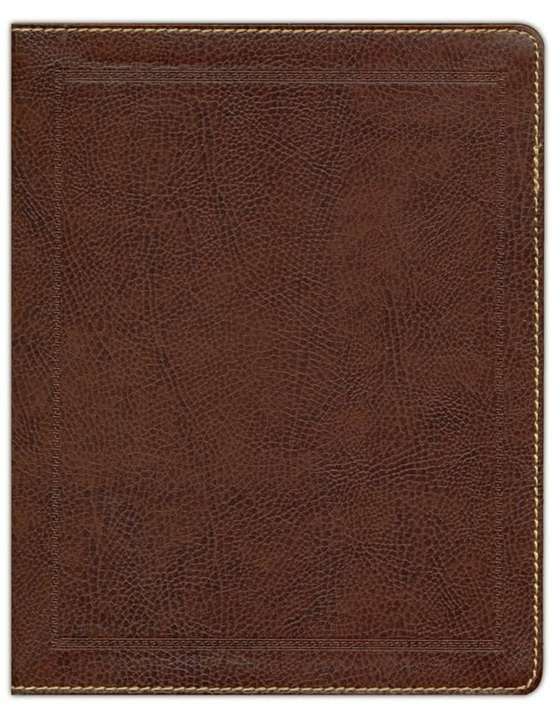 Journal the Word Bible Brown Bonded Leather