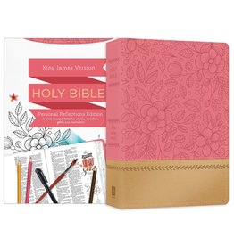 Personal Reflections Bible Rosegold Bloom Leathersoft
